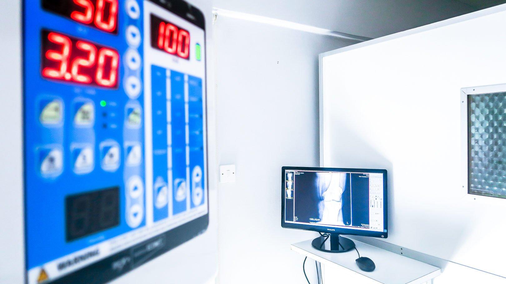 Υπερσύγχρονο σύστημα ψηφιακής ακτινογραφίας (DR) στο ιατρείο