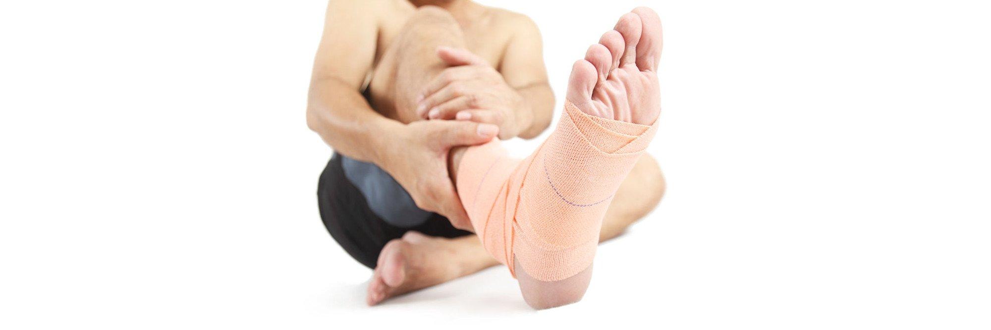 Διάγνωση κάκωσης στο πόδι